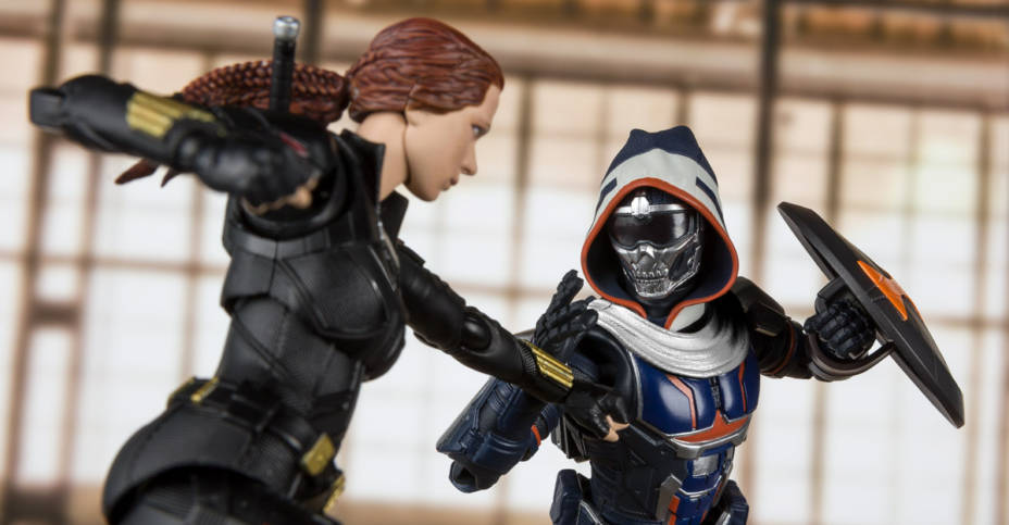 SH Figuarts Task Master and Black Widow 003