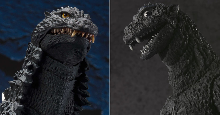 SH MonsterArts Godzilla Reissues