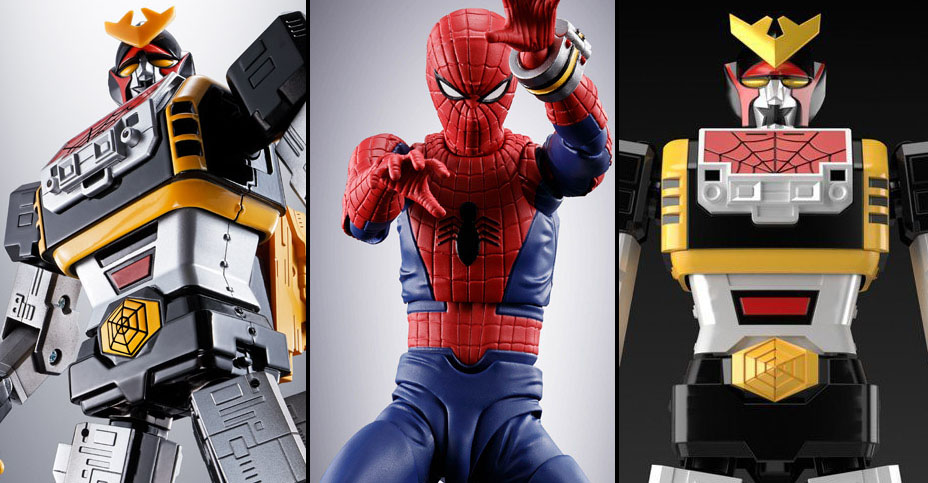 Tamashii Nations Spider Man Toei Series Figures