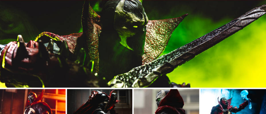 McFarlane Toys Mortal Kombat 11 SPAWN In-Hand Gallery! (And All 6 MK 11 Figures Too)