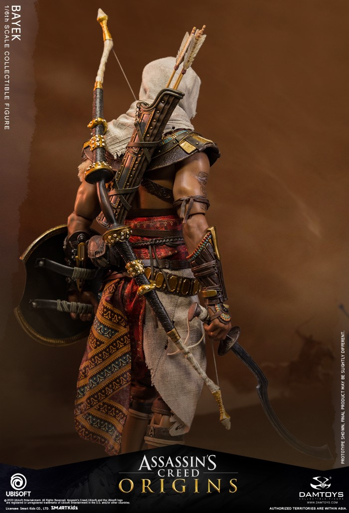Assassin S Creed Origins Bayek 1 6 Scale Figure By Damtoys The