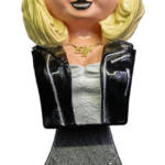 Bride of Chucky Tiffany Mini Bust 001