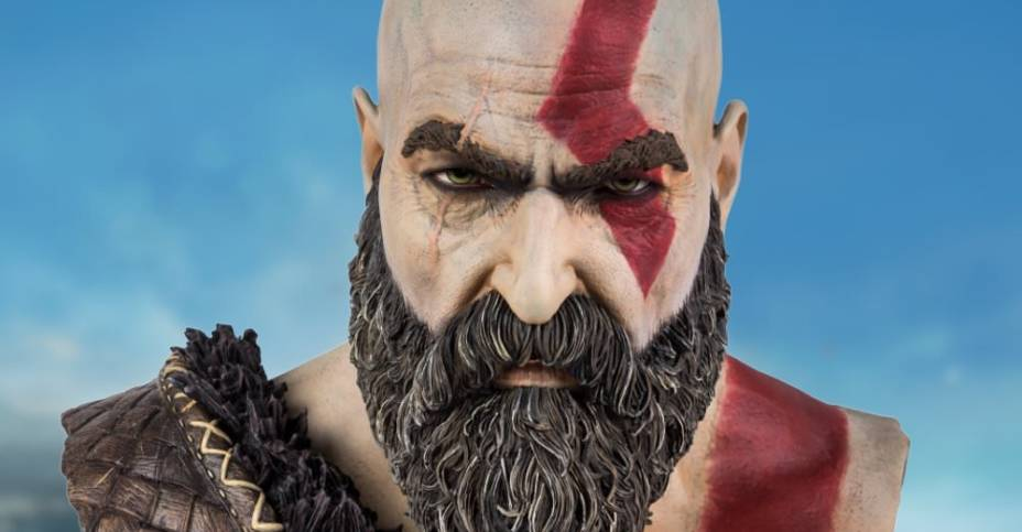 God of War Kratos Bust 001