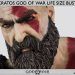 God of War Kratos Bust 014