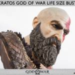 God of War Kratos Bust 017