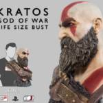 God of War Kratos Bust 060