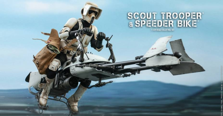 Hot Toys Scout Trooper and Bike 006