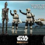 Hot Toys Scout Trooper and Bike 012