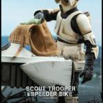 Hot Toys Scout Trooper and Bike 018