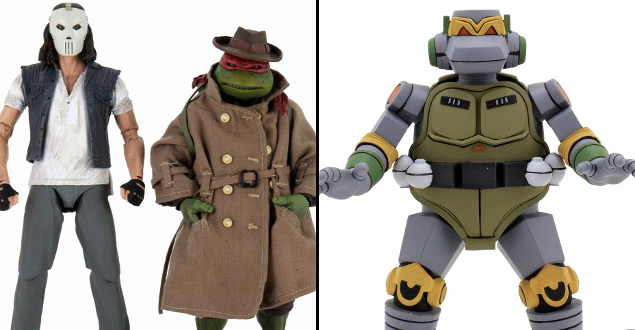 New Official Tmnt Metal Head And Raphael Vs Casey Jones 2 Pack