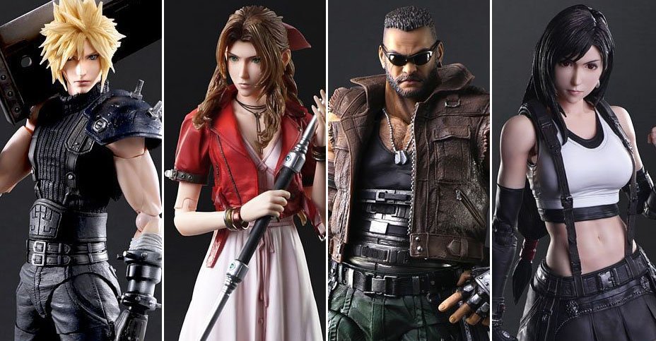 Play Arts Kai FF7 Remake Figures