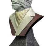 The Invisible Man Mini Bust 002