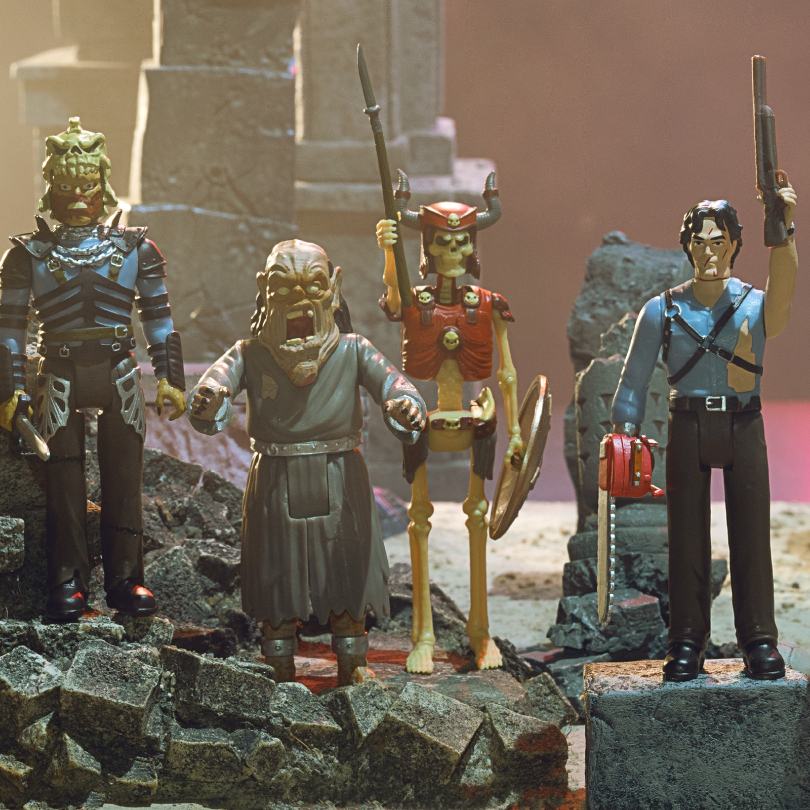 Army of Darkness ReAction Figures 001