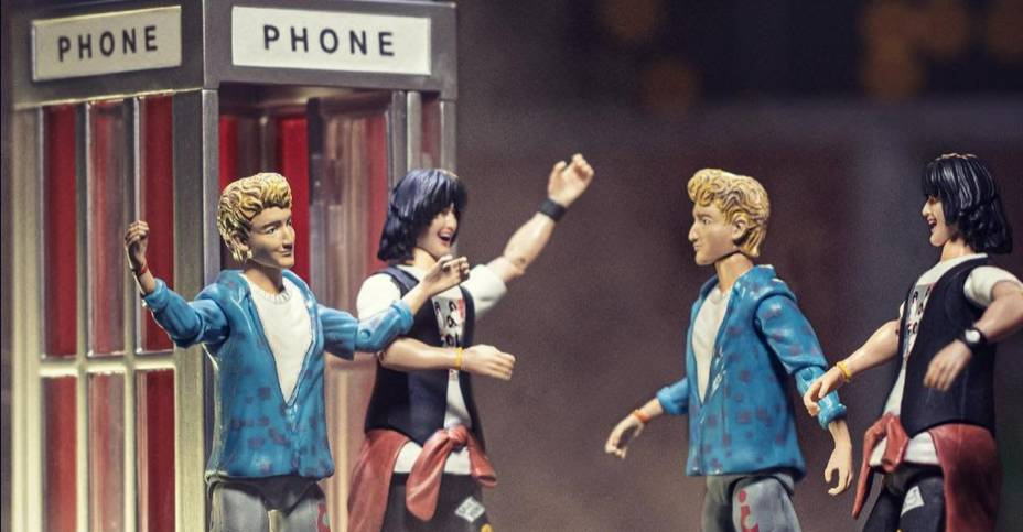 Bill and Ted Phone Booth Incendium 001