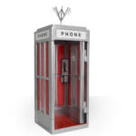 Bill and Ted Phone Booth Incendium 011