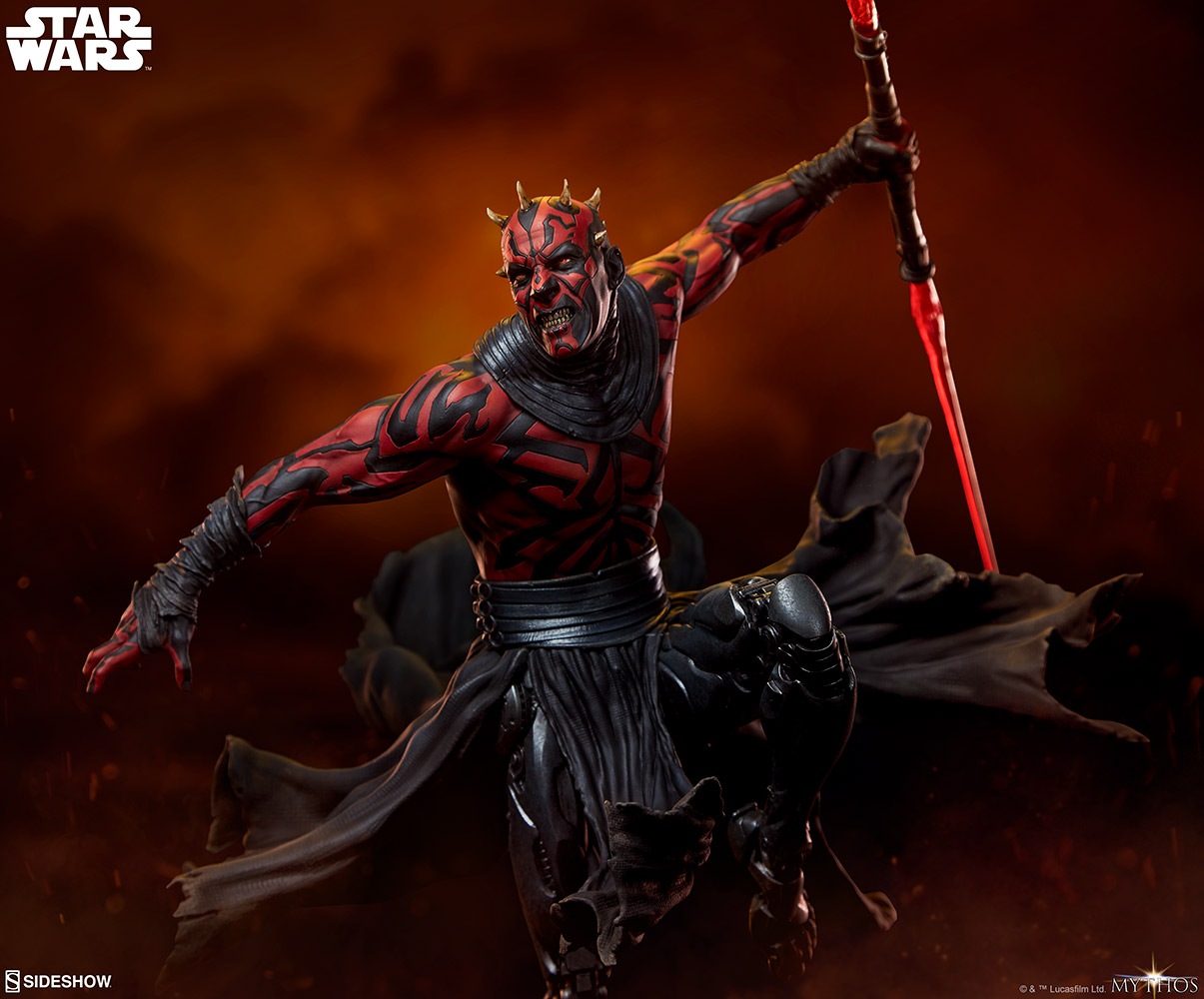 Darth Maul Mythos Statue 003