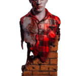 Dawn of the Dead Airport Zombie Bust 001