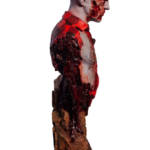 Dawn of the Dead Airport Zombie Bust 007