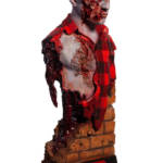 Dawn of the Dead Airport Zombie Bust 008