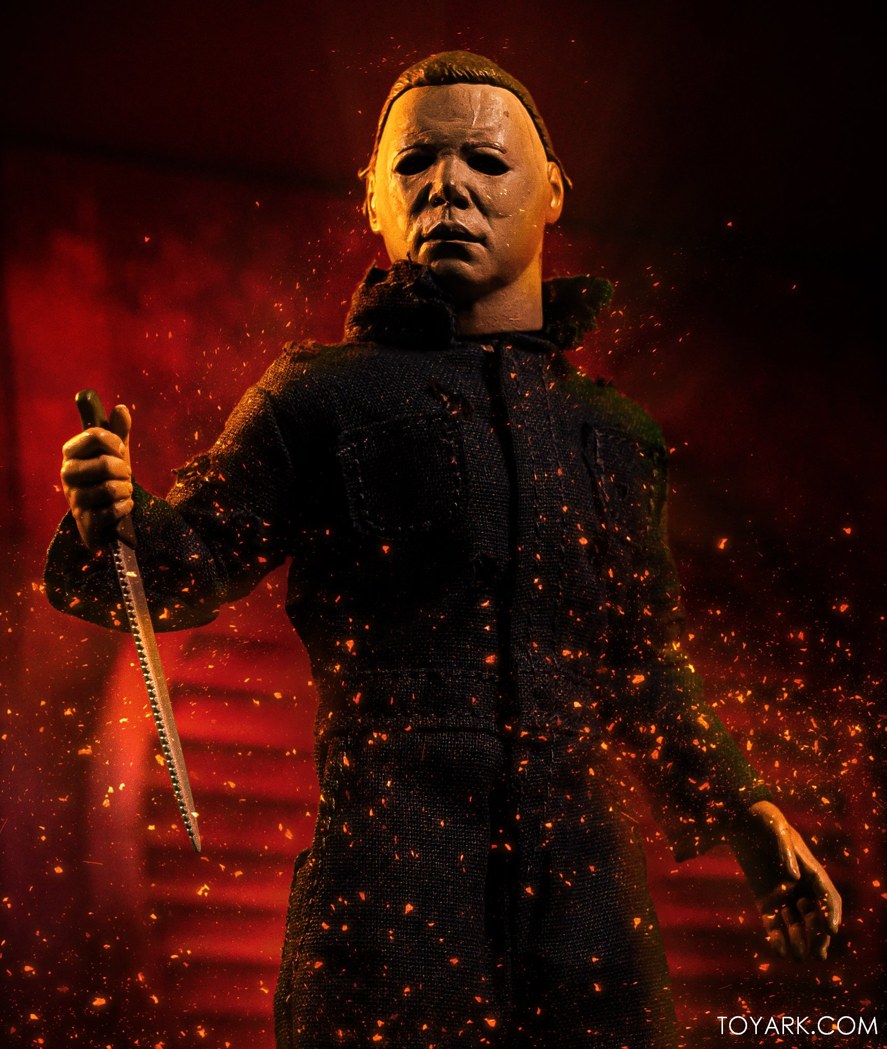 Halloween 2020 Take Place After Halloween 2 Halloween II   Michael Myers Retro Clothed Figure by NECA