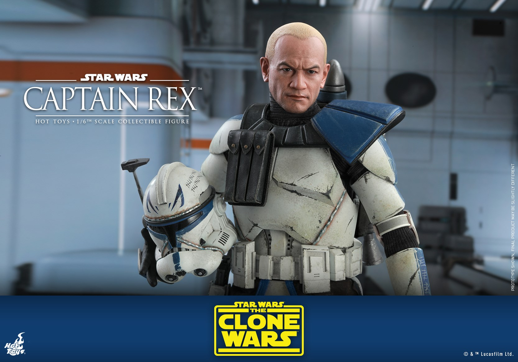 Hot Toys Clone Wars Captain Rex 022