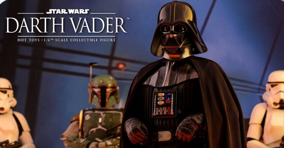 Star Wars The Empire Strikes Back Darth Vader By Hot Toys The Toyark News