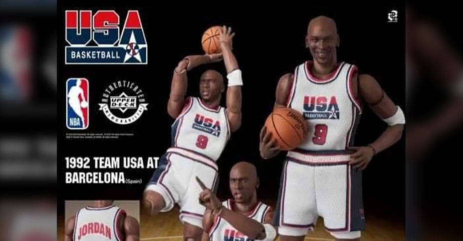 MAFEX Dream Team Michael Jordan Preview