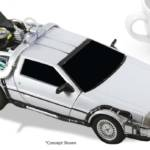 NECA BTTF Time Machine Diecast