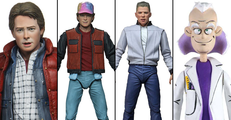 NECA Back to the Future Figures