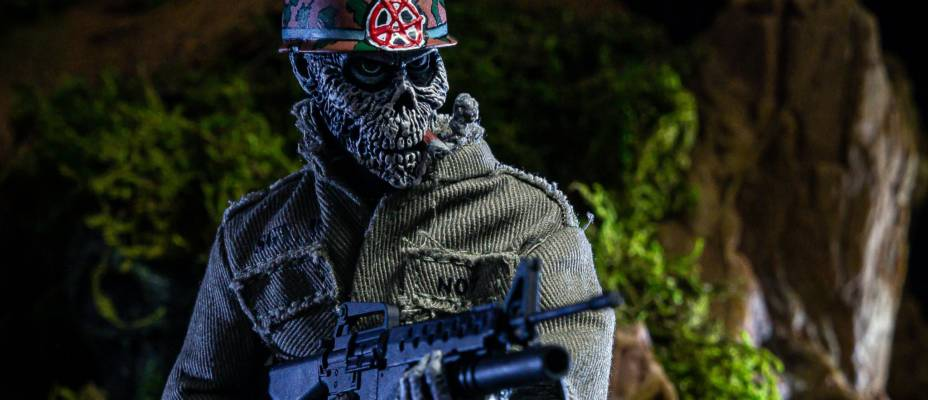 S.O.D. Sargent D 8-Inch Scale Figure by NECA - Toyark Photo Shoot