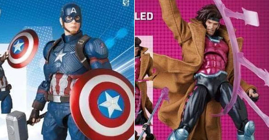 New MAFEX Marvel Previews
