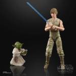 STAR WARS THE BLACK SERIES 6 INCH LUKE SKYWALKER AND YODA JEDI TRAINING DELUXE Figures oop 1