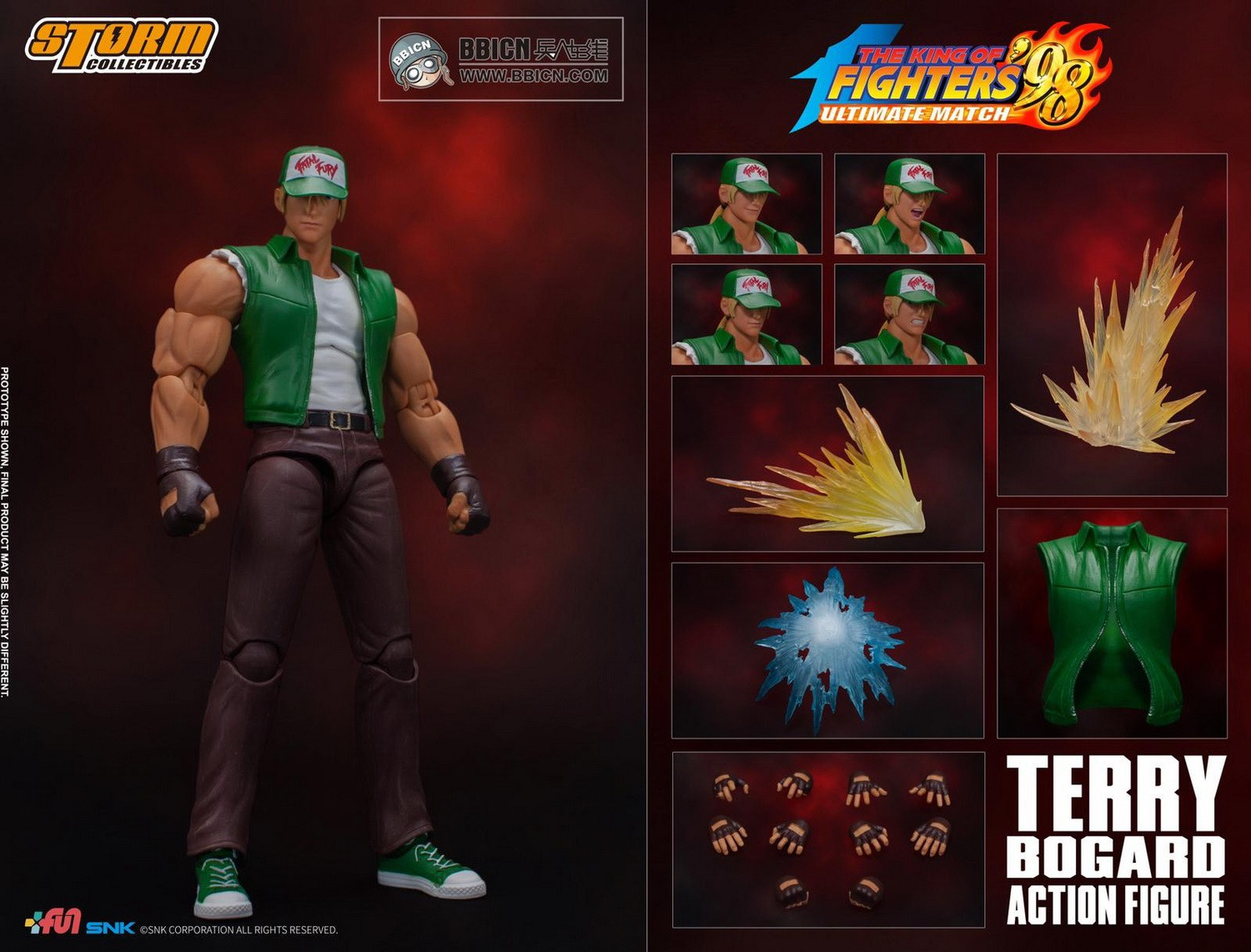 Storm King of Fighter Terry Bogard Special Edition