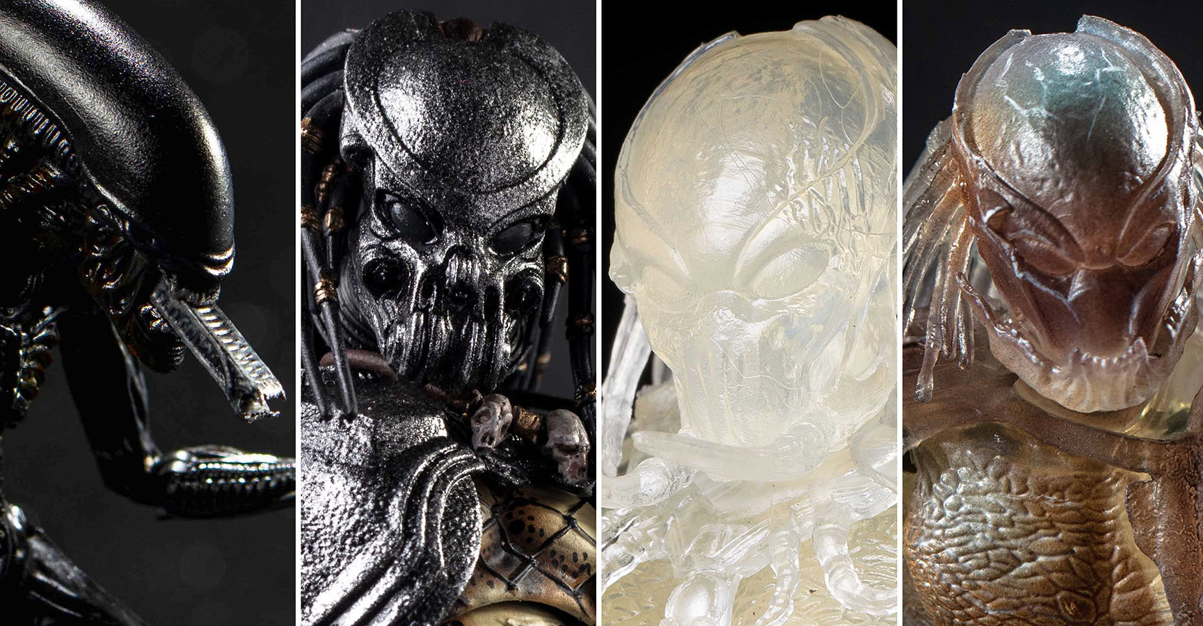 Avp and Predator by Hiya Toys