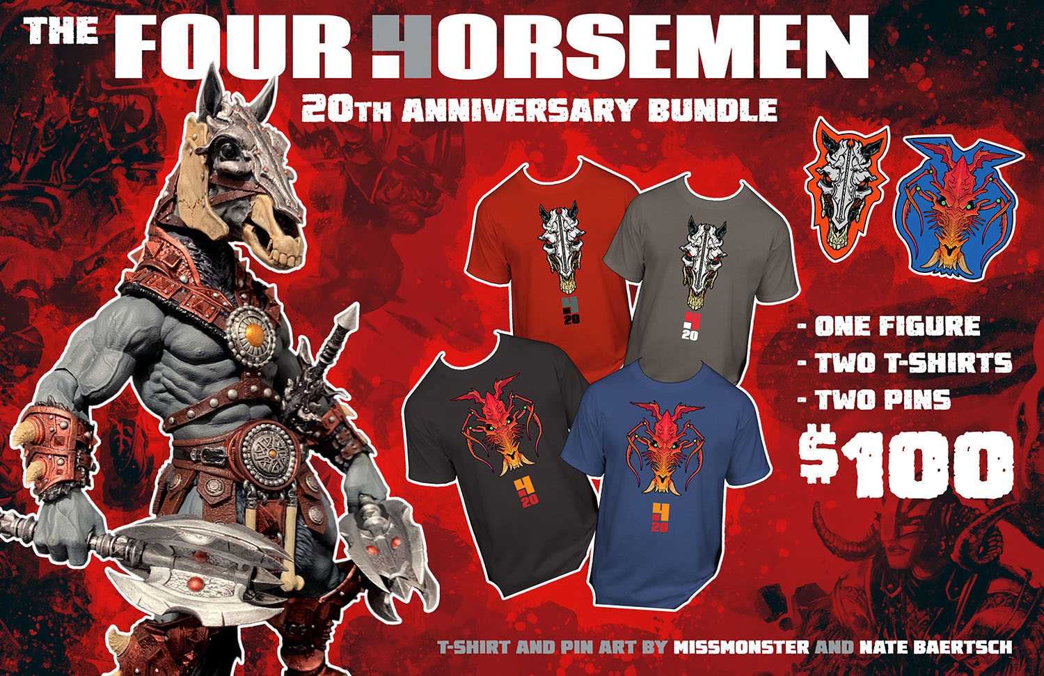 Four Horsemen 20th Bundle 001