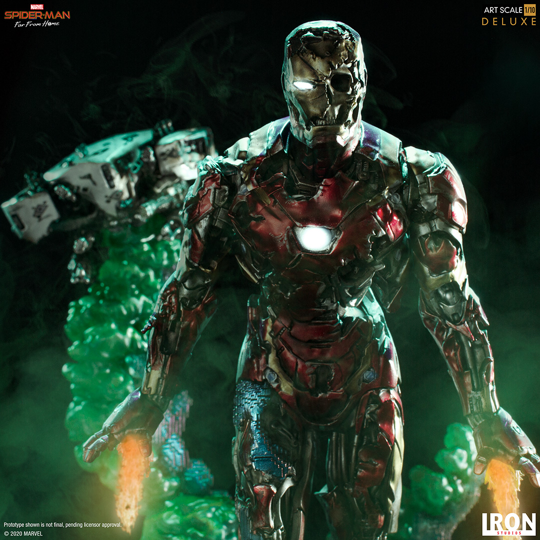 Iron Man Illusion Statue 002