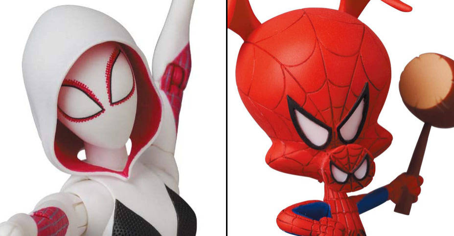 MAFEX Spider Gwen and Spider Ham 016