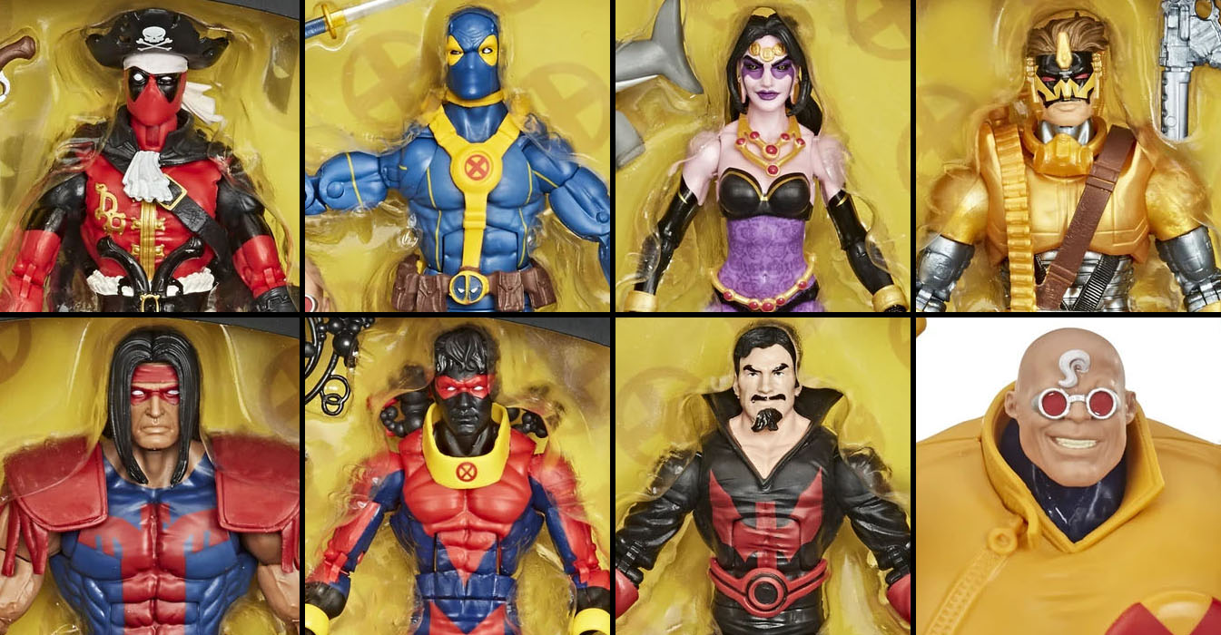 Marvel Legends Deadpool Wave 3