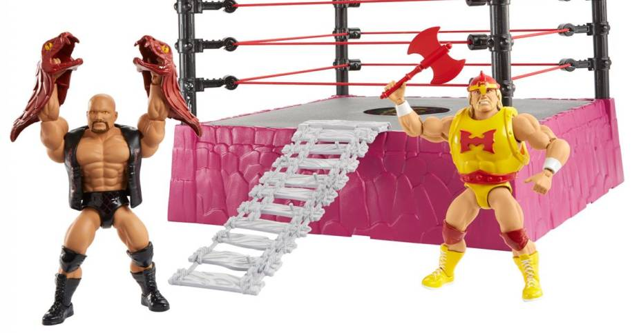 Masters of the WWE Rattlesnake Mountain Set 001
