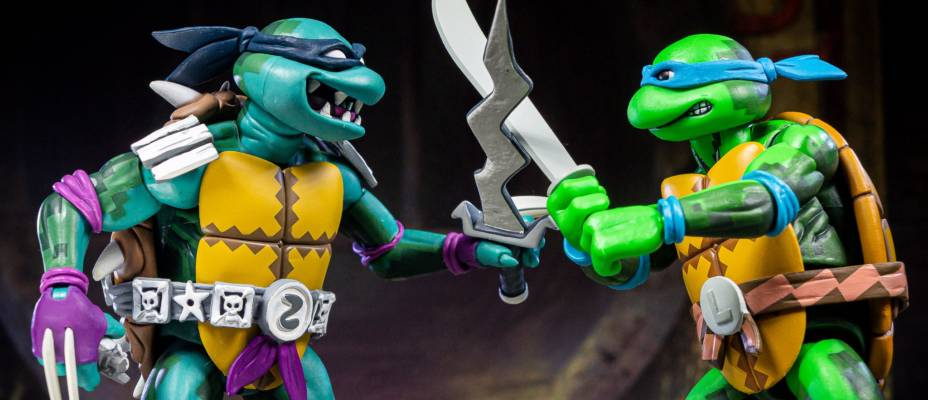 TMNT: Turtles In Time Wave 1 Figures by NECA - Toyark Photo Shoot