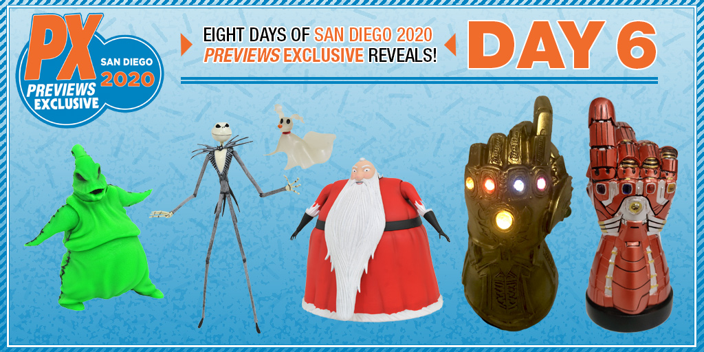Christmas Lights 2020 San Diego SDCC 2020 Exclusive Nightmare Before Christmas Figures, and Light