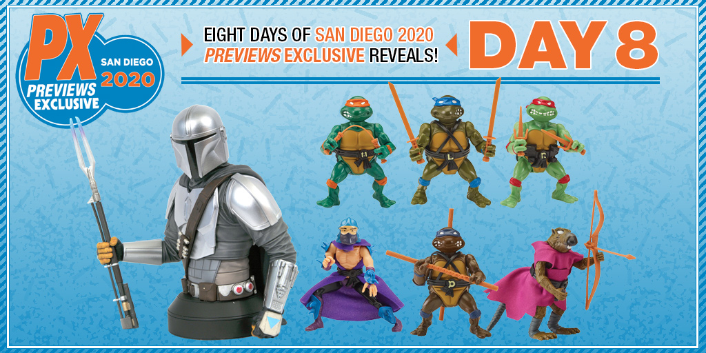 Previews SDCC 2020 Exclusives Day 8