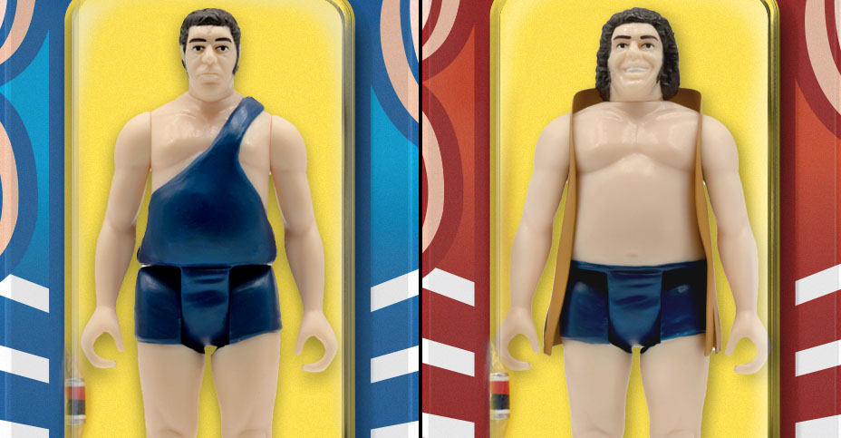 Super7 Andre The Giant ReAction Figures