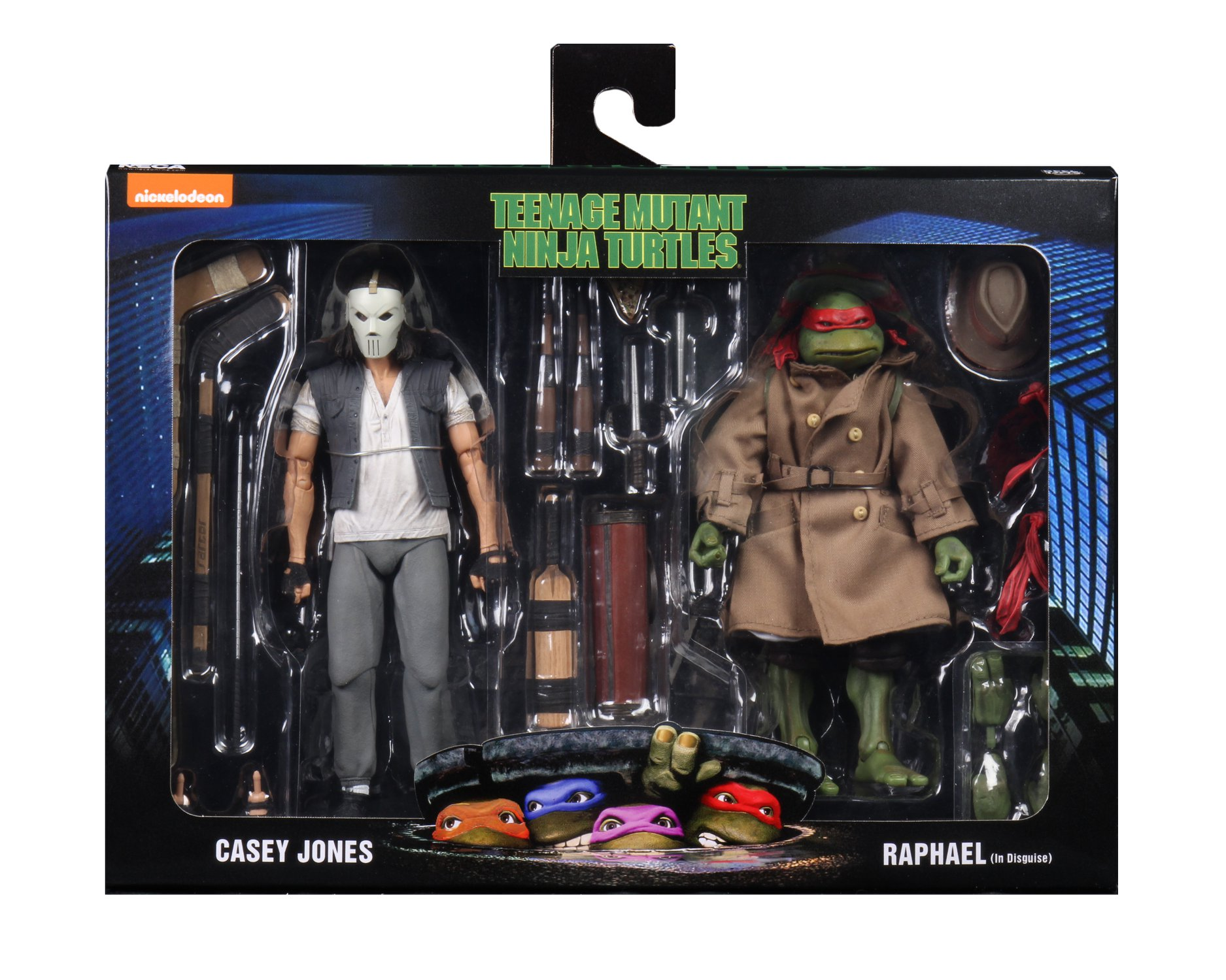 TMNT 1990 Casey and Raph 2 Pack 001