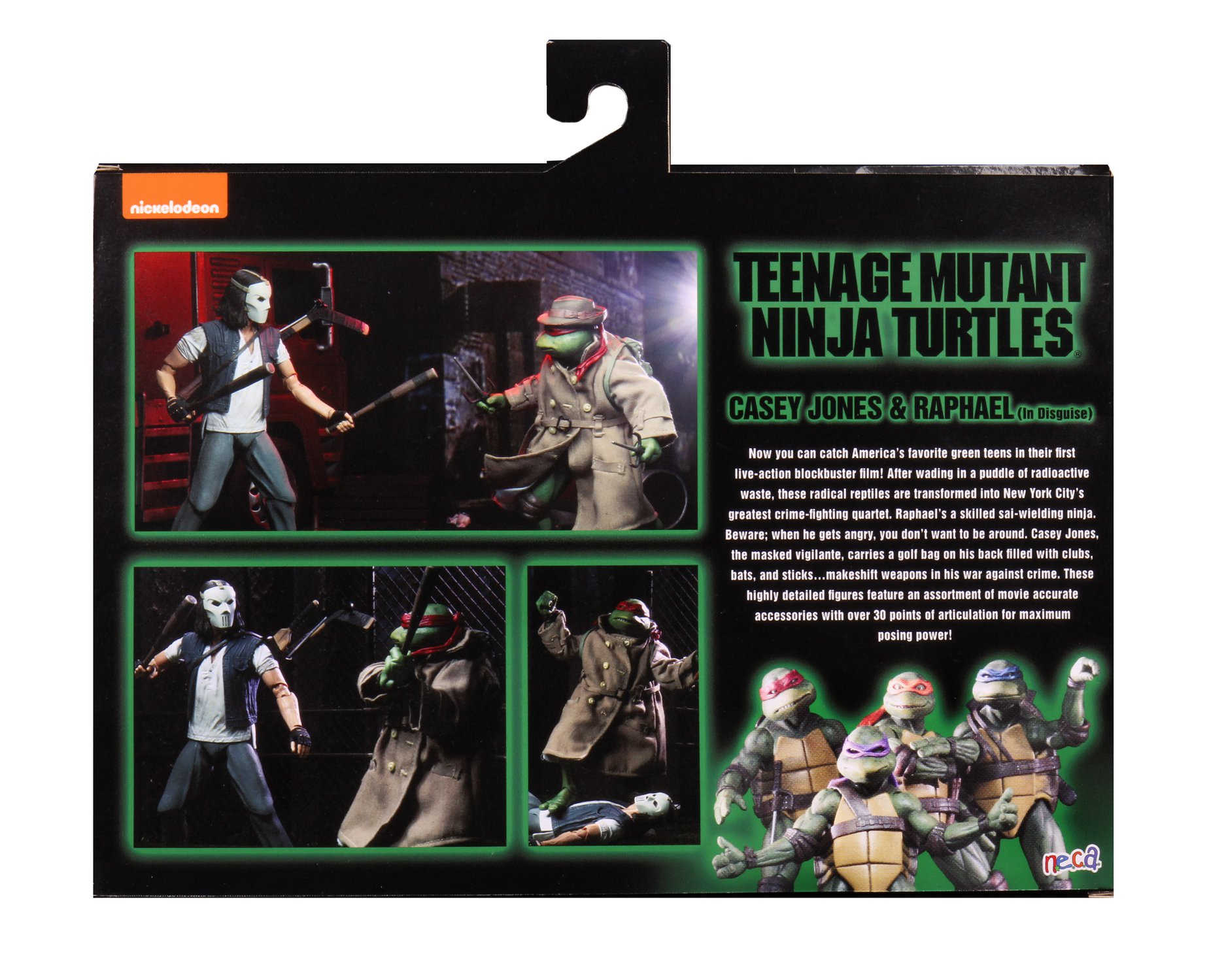 TMNT 1990 Casey and Raph 2 Pack 002