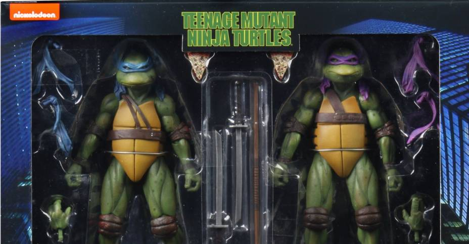 TMNT 1990 Leonardo and Donatello 001