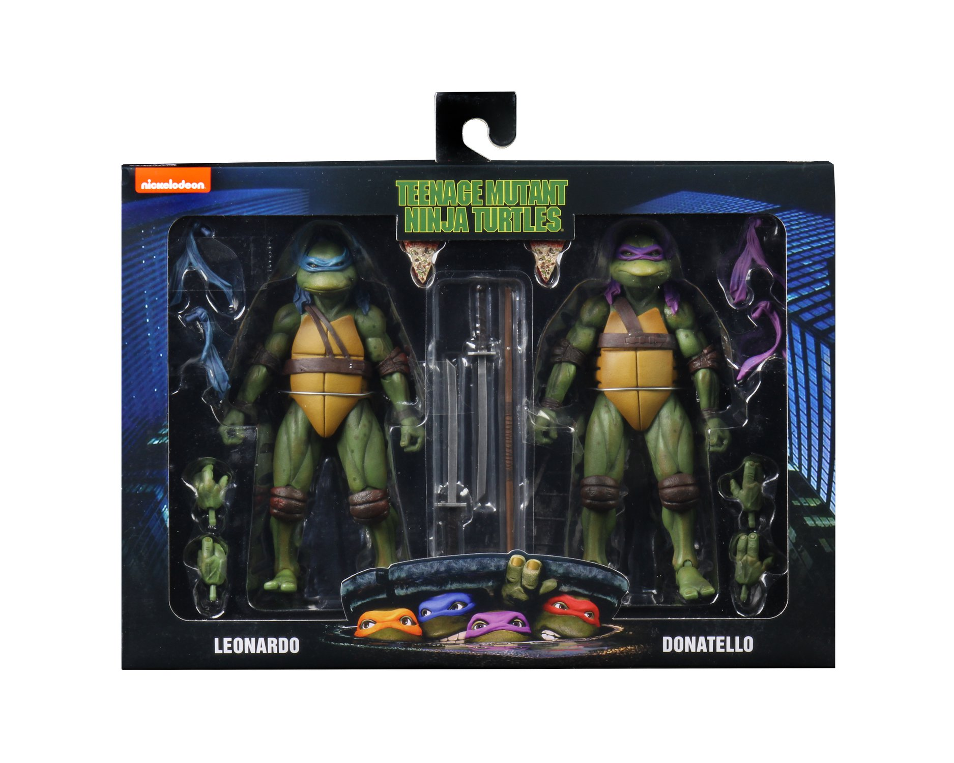 Walmart Exclusive Teenage Mutant Ninja Turtles 1990 Movie 2 Packs By Neca The Toyark News