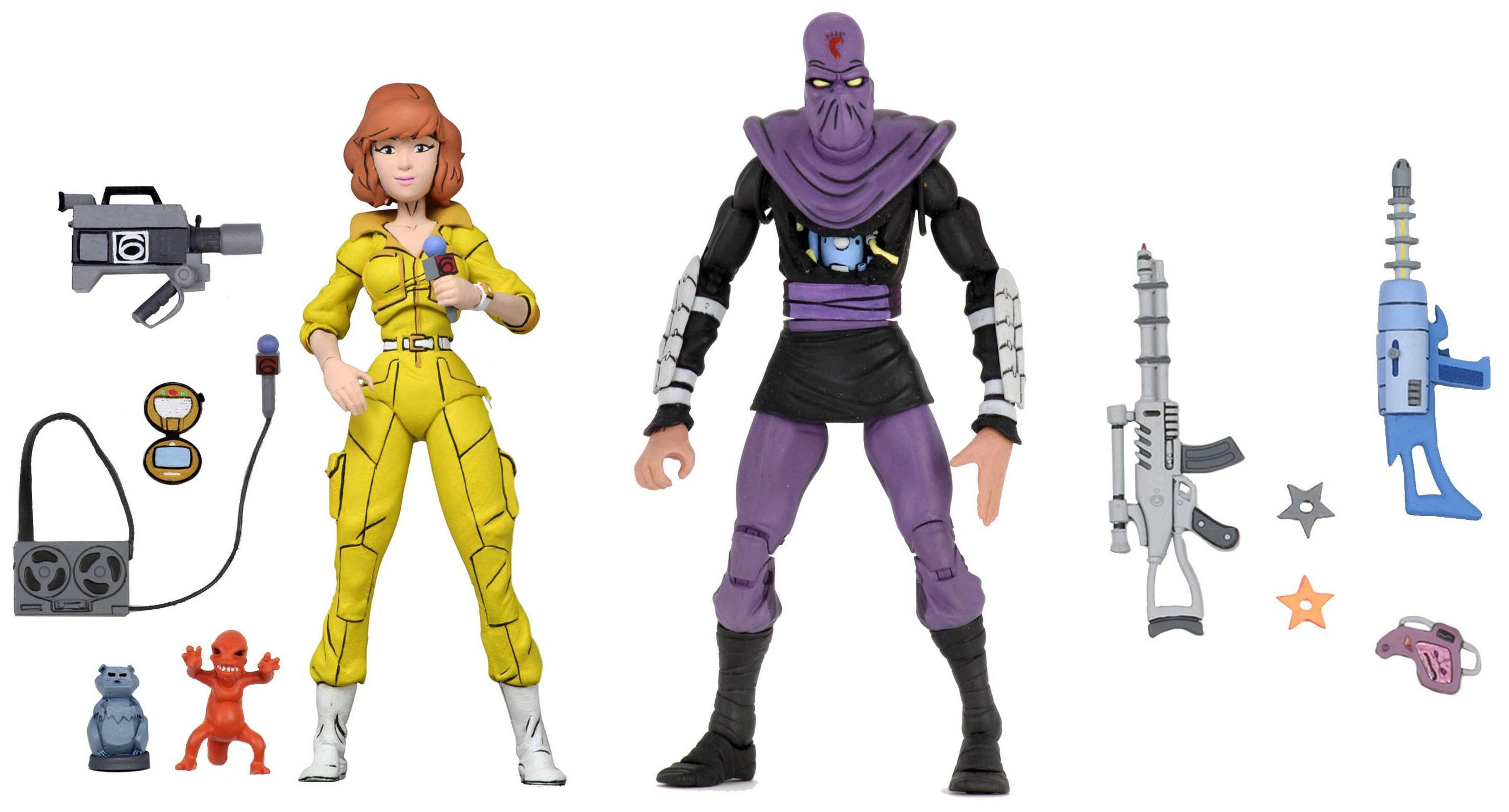 TMNT Wave 3 April and Foot Soldier