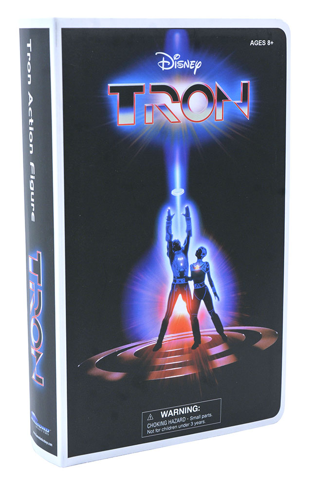Tron VHS Deluxe Figure Packaging 001