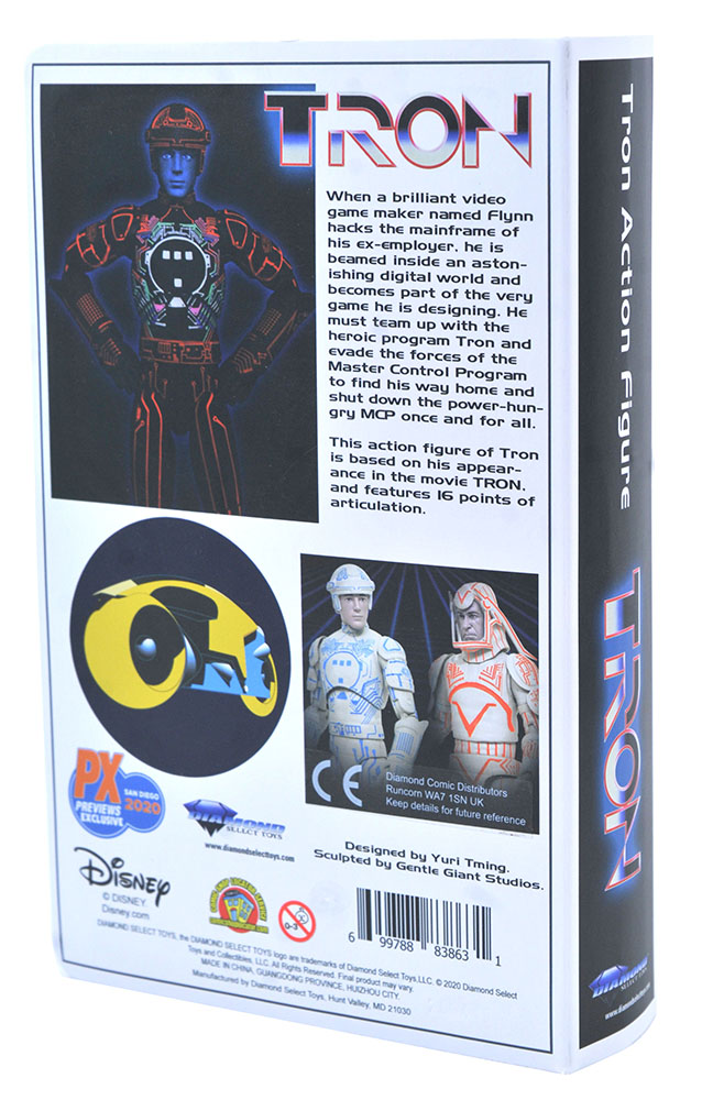 Tron VHS Deluxe Figure Packaging 002